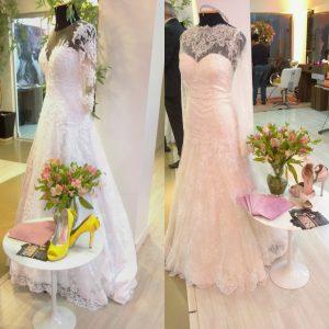 ce86b8ff8 Noivas e seus sapatos coloridos. Feira Casar Vestidos de noiva e sapatos  coloridos1
