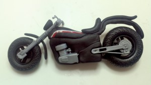 mini moto cenario topo bolo
